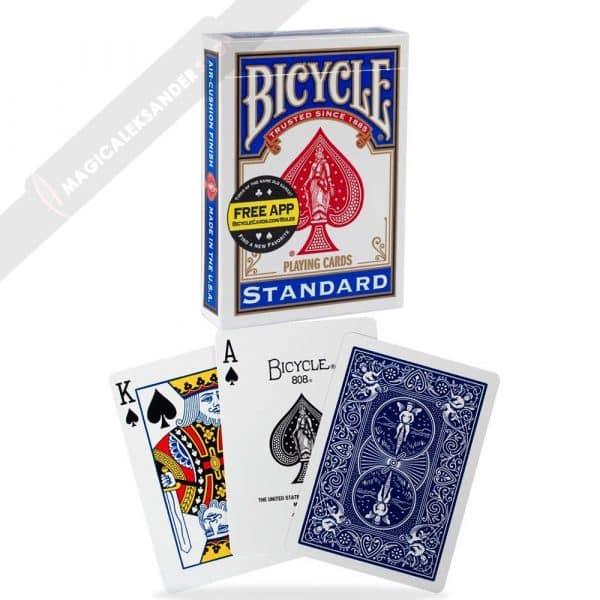 Bicycle karte modre- magicaleksandershop
